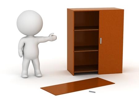 assemble: 3D Character Assembling Furniture