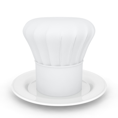 3D Plate and Chef Hat