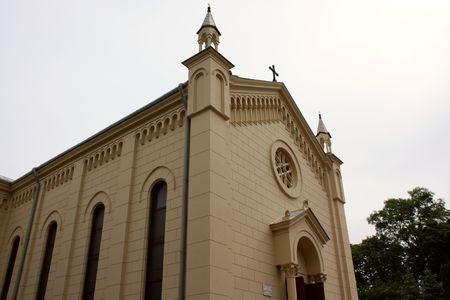 Roman-Catholic cathedral from Sighisoara city.