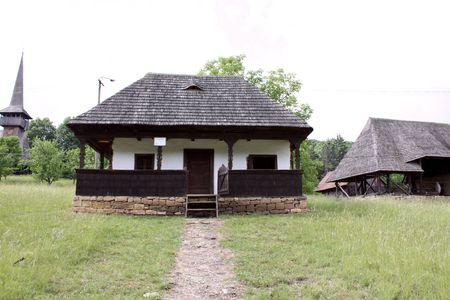secular: Secular house from Transylvanian village