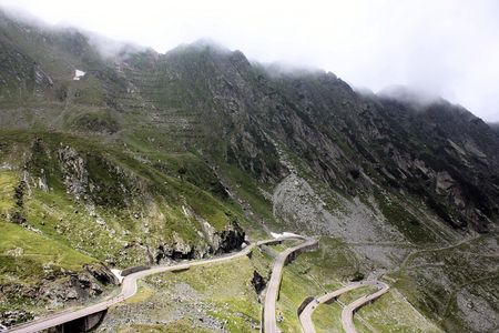 transfagarasan: Mountain landscape in Transfagarasan from Romania