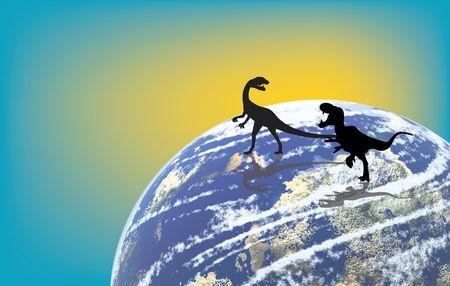 dinosaurus: Very old and ancient time of dinosaurus world