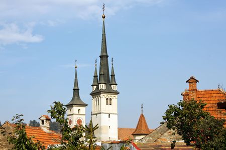 Saint Nicholas Church is a Romanian Orthodox church in Braşov