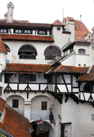 Bran castle from Transylvania, public landmark photo