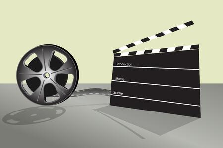 Cinema video film en bioscoop tabel productie