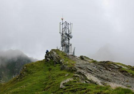 meteorological: Meteorological station from Balea lake