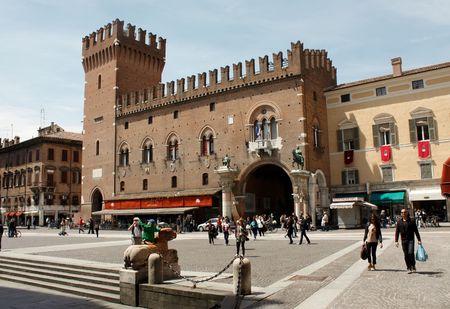 ferrara: Ferrara 05.16.2010 - Strrets scene from Ferrara