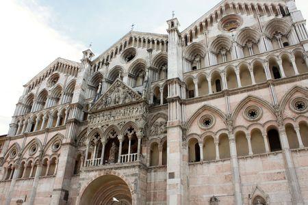 ferrara: Ferrara 05.16.2010 - Beautiful cathedral from Ferrara
