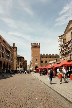 ferrara: Ferrara 05.16.2010 - Tourism destination from Italy, Ferrara Editorial
