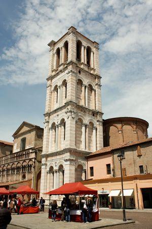 ferrara: Ferrara 05.16.2010 - Old tower bell from Ferrara Editorial