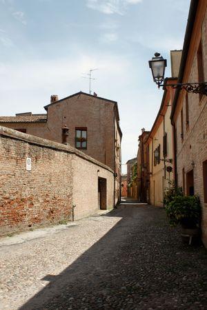 ferrara: Ferrara 05.16.2010 - Empty street scene from Ferrara