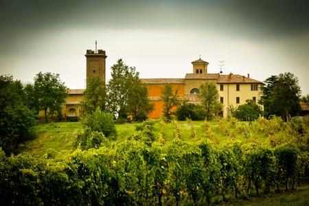 emilia romagna: Countryside scenery from Emilia Romagna, Italy