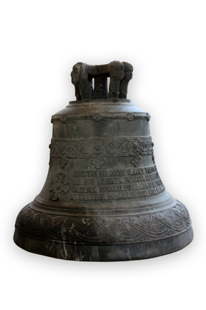 church bell: Bell of monastery from Alba-Iulia, Romania