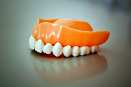 Dental prosthesis from ceramic material Stock Photo - 10441125
