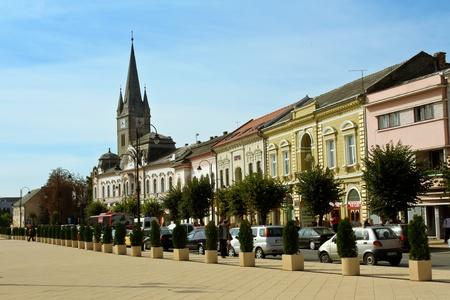 Turda, Romania - September 17, 2011 - Day scene from Turda, Romania Editorial