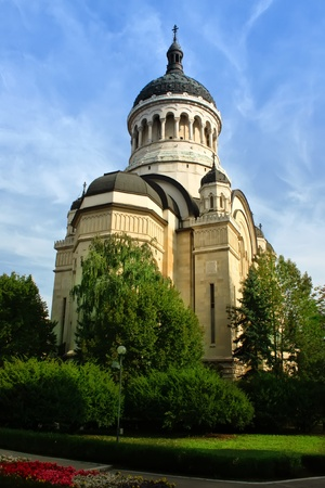 napoca: Cluj-Napoca, Romania - September 18, 2011 - The Orthodox cathedral from Cluj- Napoca, Romania