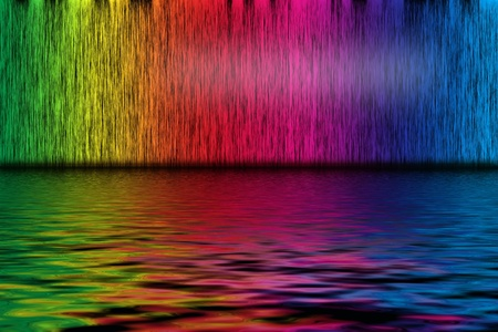 Abstract background from spectrum lines with water Stock Photo - 11763950