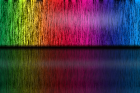 Abstract background from spectrum lines Stock Photo - 11876979