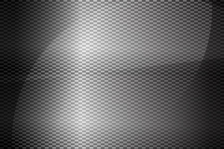 Texture of carbon fiber background  Vector