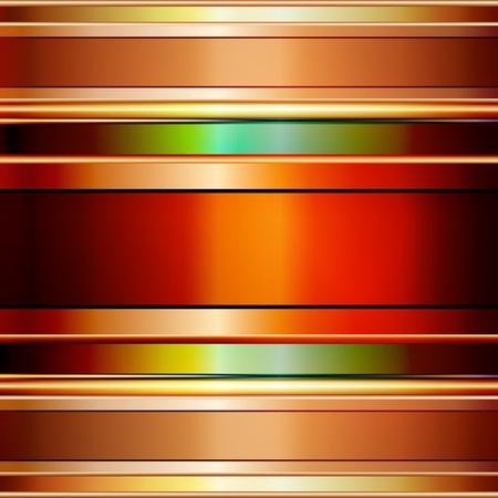 Graphic illustration of elegant metallic background Stock Vector - 12406294
