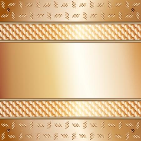 fixed line: Ilustraci�n gr�fica de la tecnolog�a de fondo, con planchas de oro con el modelo en la parte superior