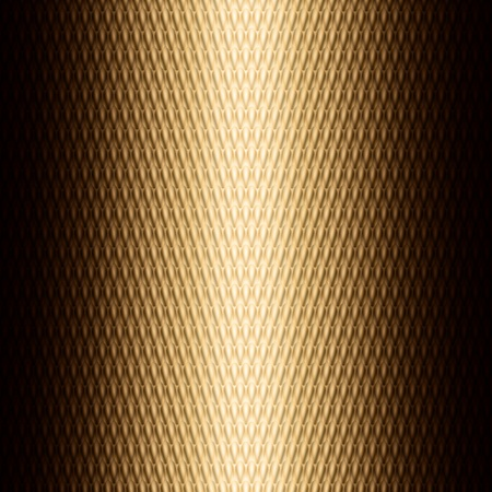 Graphic illustration of technology background with metallic  golden plate Vector