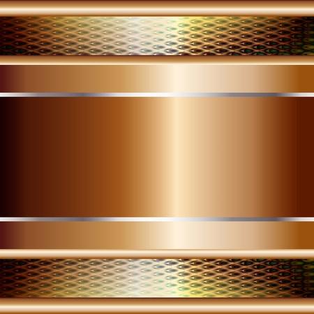 fixed line: Ilustraci�n gr�fica de la tecnolog�a de fondo, con planchas de oro y el modelo en la parte superior
