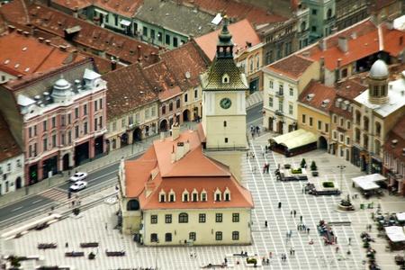 council: Council Square Of Brasov, Romania Editorial