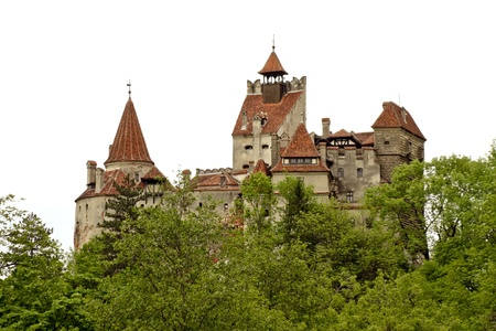 Bran, Romania - 20.05.2012 - Medieval castle, known as Dracula's castle Stock Photo - 13714787