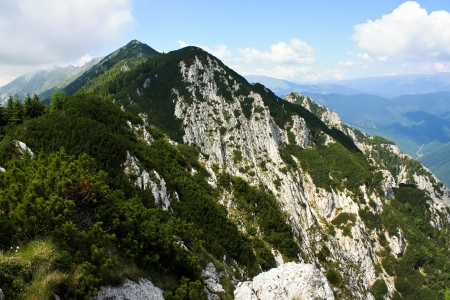 Beautiful landscape from Piatra Craiului, Romania Stock Photo - 14270516
