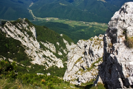View to Plaiul Foii, in west part of Piatra Craiului photo