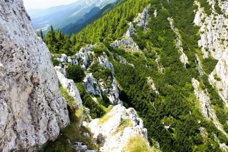 Scene with saddle stone to Padina Popii peak photo