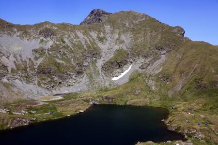 Goat lake from Fagaras mountains, Romania
