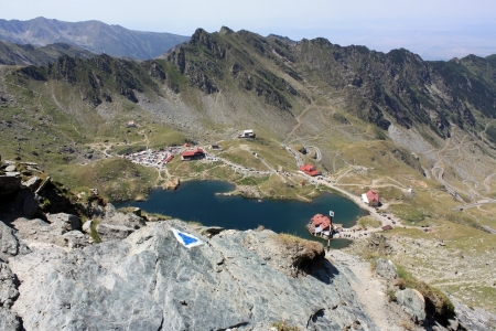 Mountain landscape from Transfagarasan photo