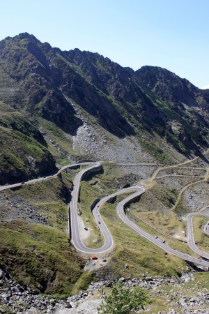 The most famous road in Romania, Transfagarasan photo