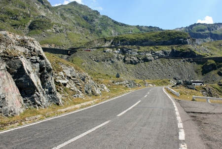 Scene from Transfagarasan, Romania photo