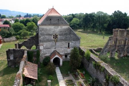 secular: Carta, Romania - 21.07.2012 - Secular church from Carta, Transylvania