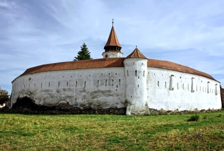 fortified: Prejmer, Romania - 11.09.2012 - Evangelical fortified church from Prejmer, Romania Editorial