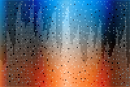 Graphic illustration of abstract background made from cubes Vector