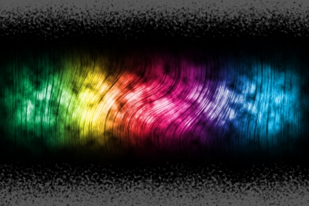 Abstract background with spectral shape on top  photo