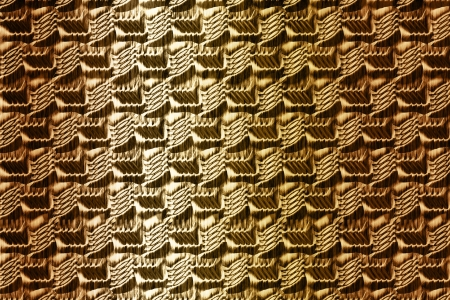 embossing: Golden ornamental pattern texture background