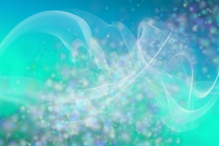 Abstract background with white smoke and shapes on top Stock Photo - 17011657