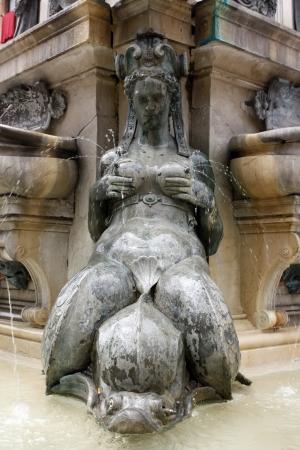 Mermaid fountain in the Piazza Maggiore, Bologna Stock Photo - 17580191
