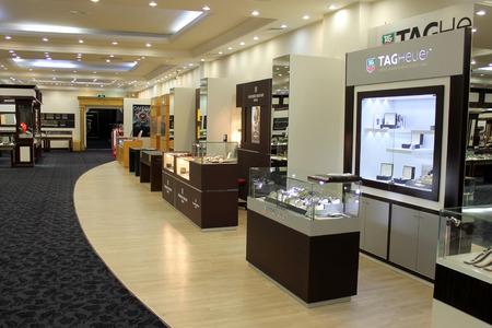 Bodrum, Turkey - 24 06 2014 - Bodrum Gold Center Editorial