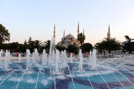 Istanbul, Turkey - 30 06 2014 - Blue Mosque, Istanbul
