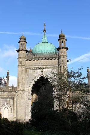 north gate: The north gate of Brighton Pavilion