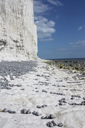 sussex: Down beach at Birling Gap, East Sussex