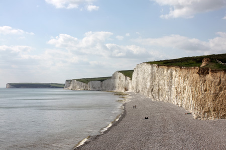 seven sisters: Beautiful scene from Seven Sisters, East Sussex