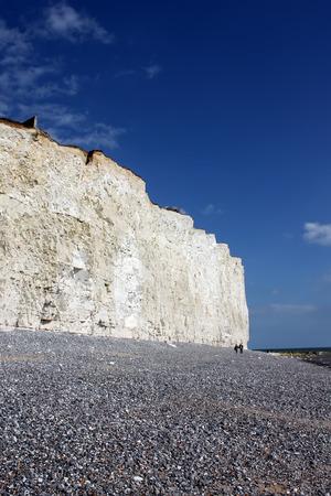 Birling Gap beach near Eastbourne Stock Photo