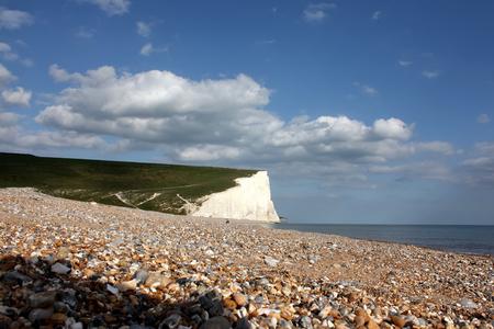 Cuckmere beach near Eastbourne Stock Photo